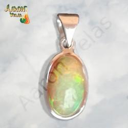 White opal pendant