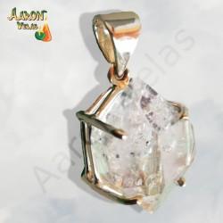 Herkimer quartz pendabt