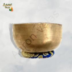 Antique singing bowl 500-600