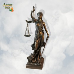 goddess of justice 20cm
