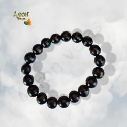 Elastic onyx bracelet.