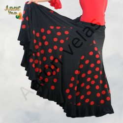 Flamenco skirt with godets...