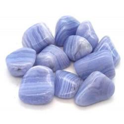 Calcedonia azul rodados